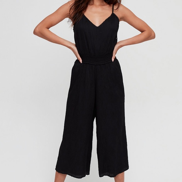 SOLD Wilfred Irene Jumpsuit in Black